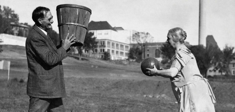 basketball peach baskets history james madness key duck rock